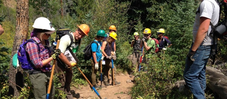 VVMBA Hosts the 2015 Outdoor Stewardship Institute Trail Crew Leader Training